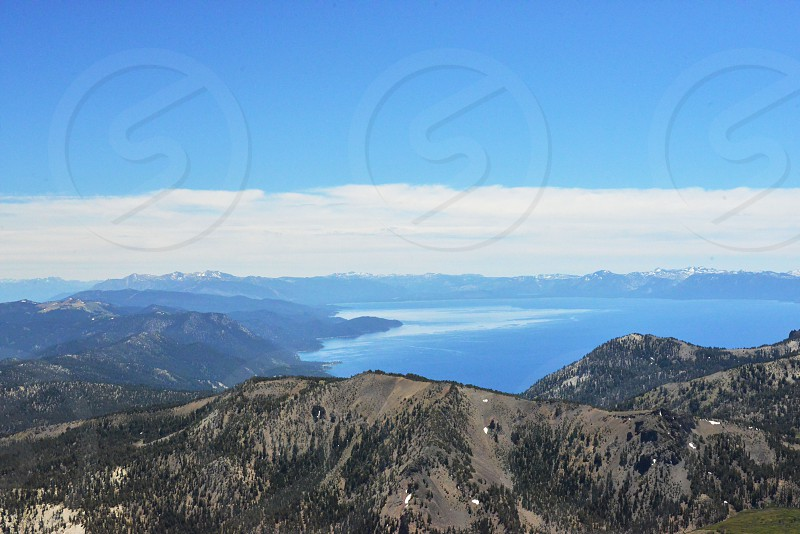 Mt. Rose Summit with the Lovely Lake Tahoe in the background. xo photo