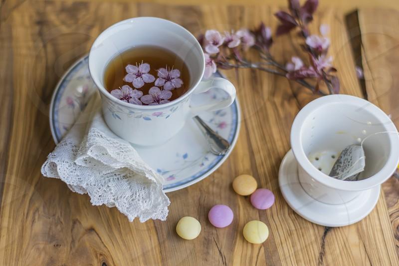 Spring tea photo