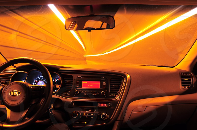 black steering wheel photo