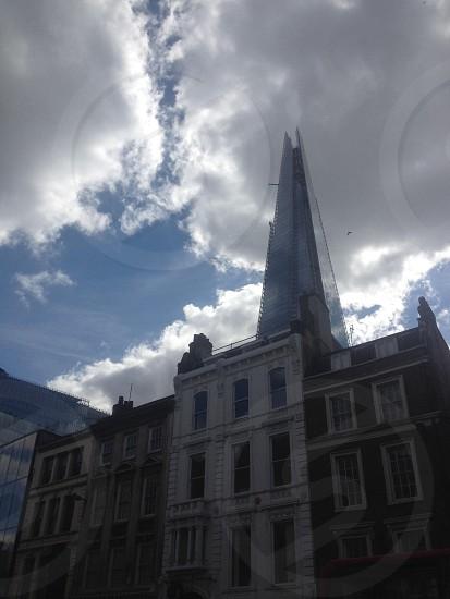 London Borough High Street The Shard. photo