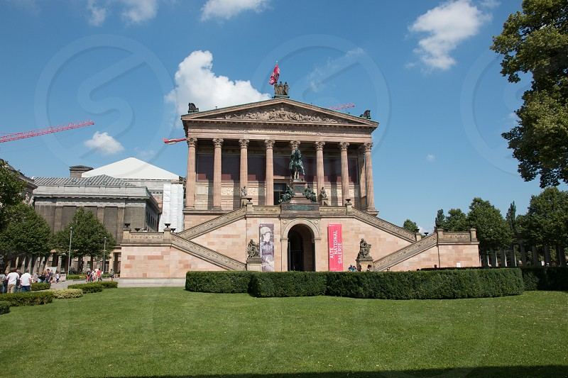 Museum Insel in Berlin Germany. photo