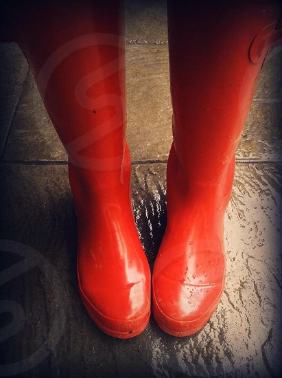 My red boots photo