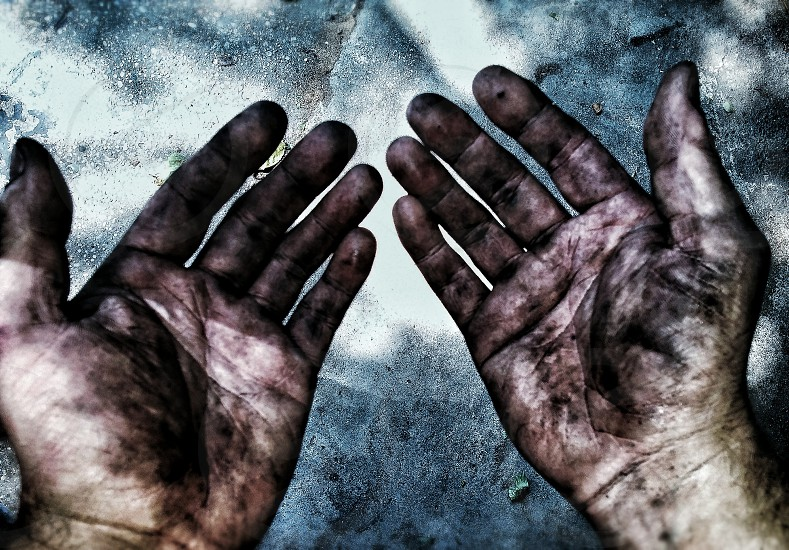 #hard #work #responsibility #accountability #dirty #man #hands photo