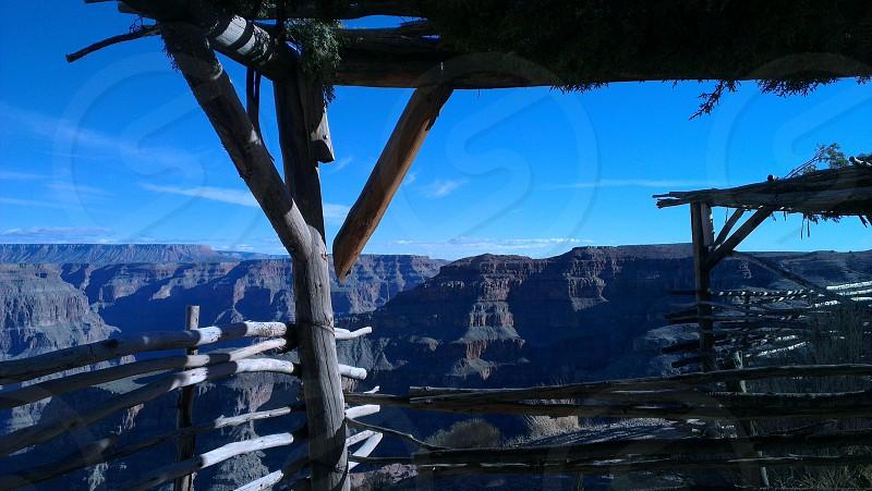 Framed Canyon photo
