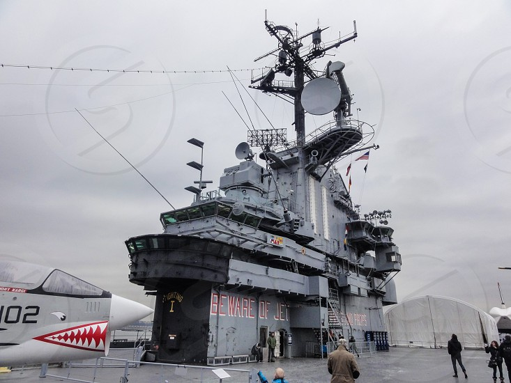 Intrepid Sea Air & Space Museum - Hell`s Kitchen - New York NY USA photo