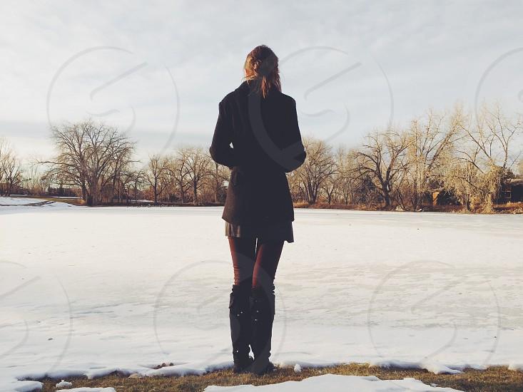 Frozen Pond Greeley CO photo