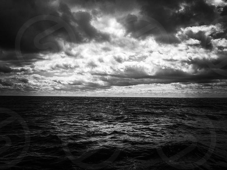 sea ocean painting photo