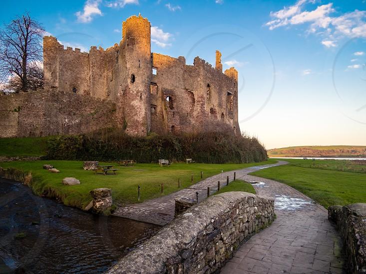 Magical Laugharne Castle. photo