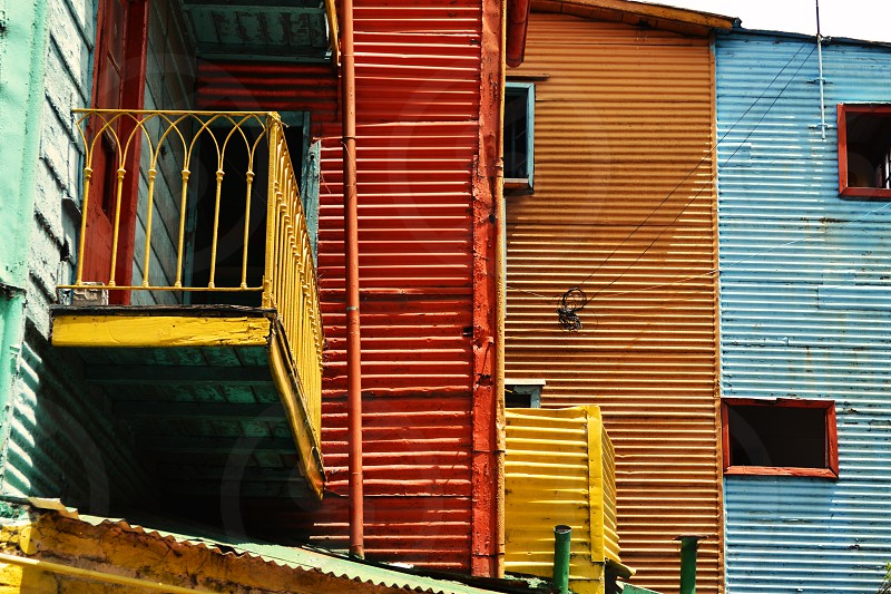 Photo of La Boca Buenos Aires Argentina colorful architecture photo