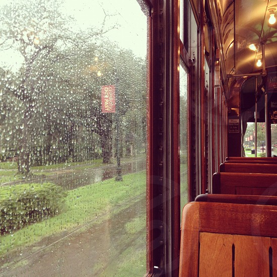 Street Car in the Rain photo