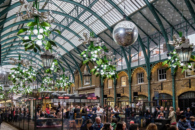 Christmas Decorations at Covent Garden photo