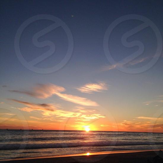 Sunset Carpinteria CA photo