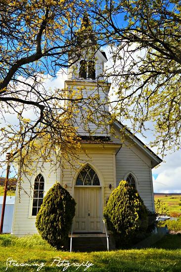 Old church washington state photo