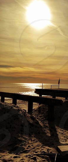 Sandy Sunset photo