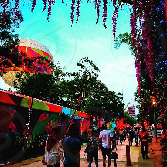 Floral Gate at Putrajaya Hot Air Balloon FIesta photo