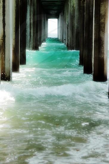 Scripps Pier in La Jolla California photo