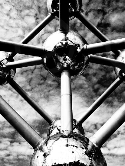 Reflecting surface Anatomium Brussels photo