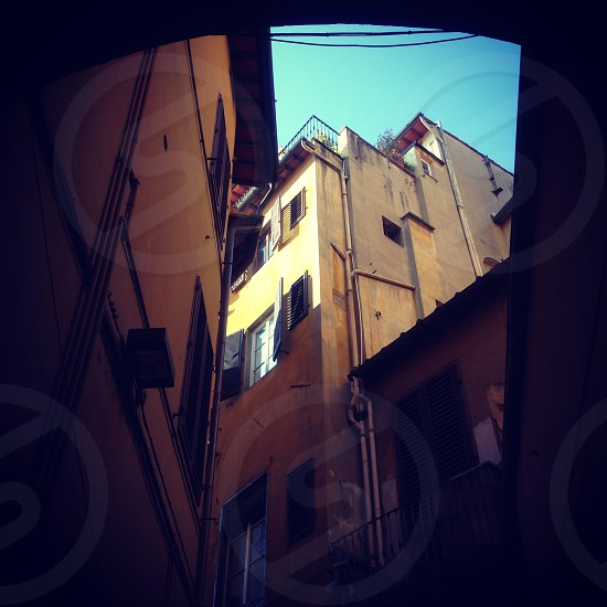 Through the streets of Florence. photo