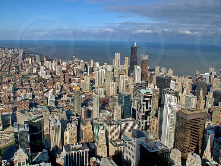 Chicago from the Sears towers photo
