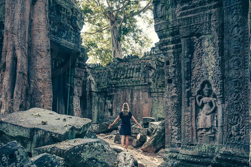 Angkor Ta Prohm photo