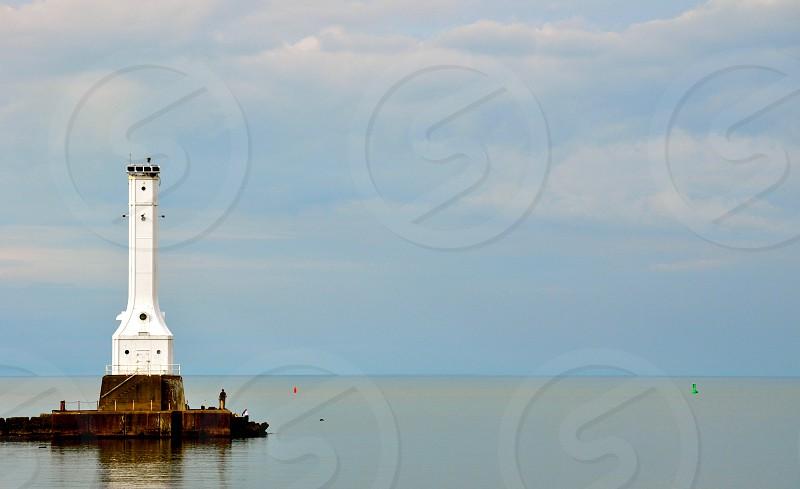 Huron Lighthouse - Lake Erie Ohio - USA photo