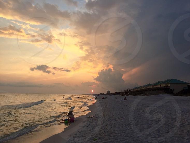 Sun-rays photo