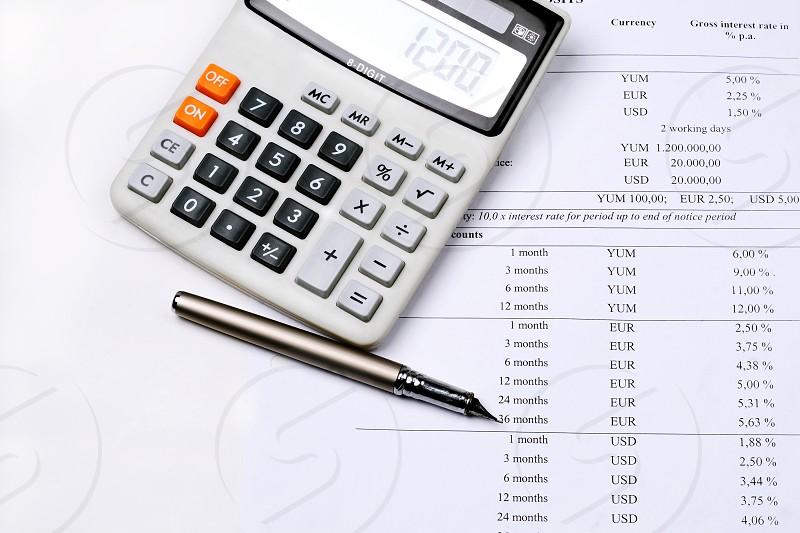 Homebankingfinanceaccountcalculatorpen photo