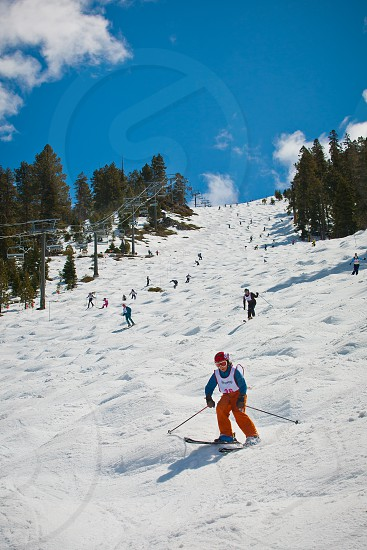 Heavenly Ski Resort Lake Tahoe California. photo