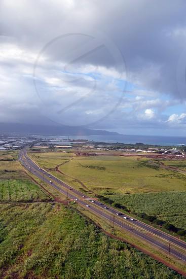 Ariel view of Maui Hawaii photo