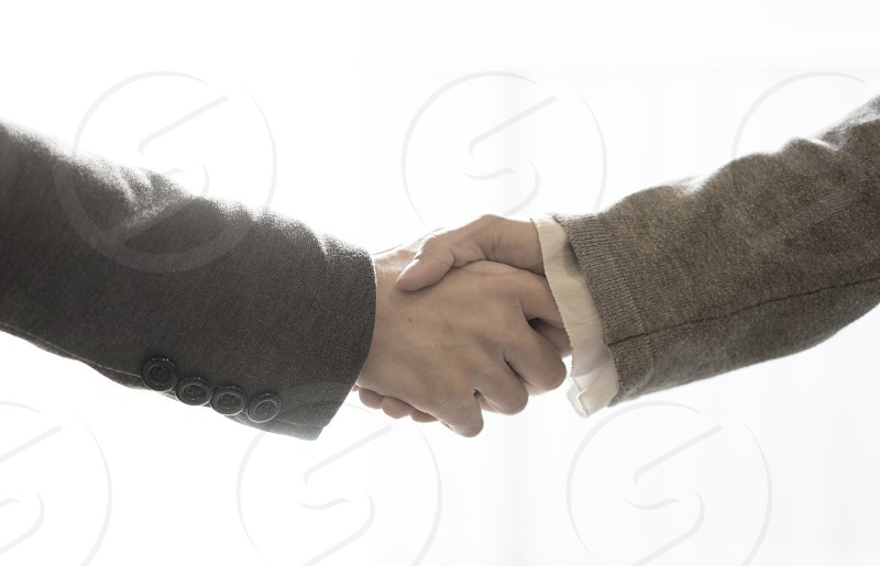 Handshake deal photo