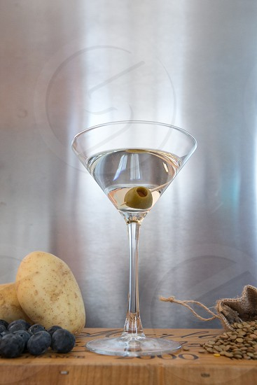 Vodka Martini Drink Industrial Alcohol photo