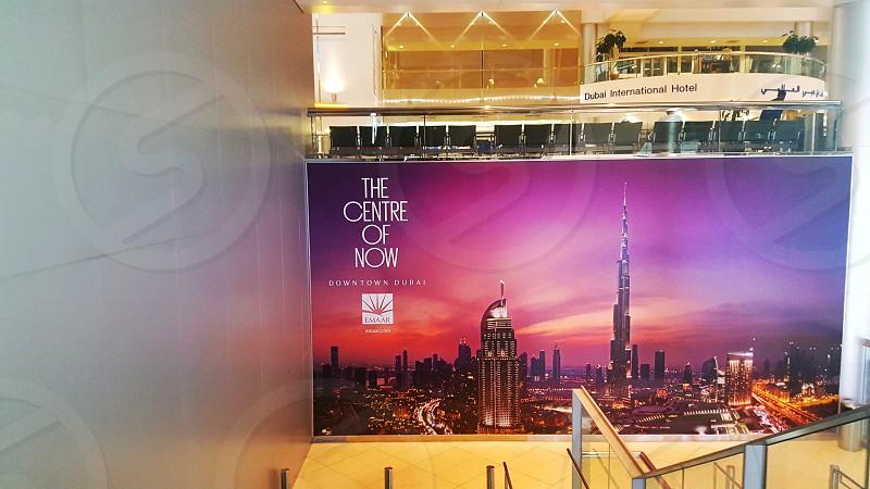 Dubai airport - DXB - UAE photo