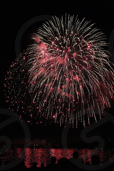 Lake Tahoe 4th of July Fireworks  photo