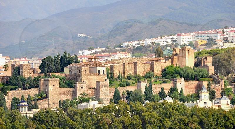 Malaga fortres - Gibralfaro - Costa del Sol - Spain photo