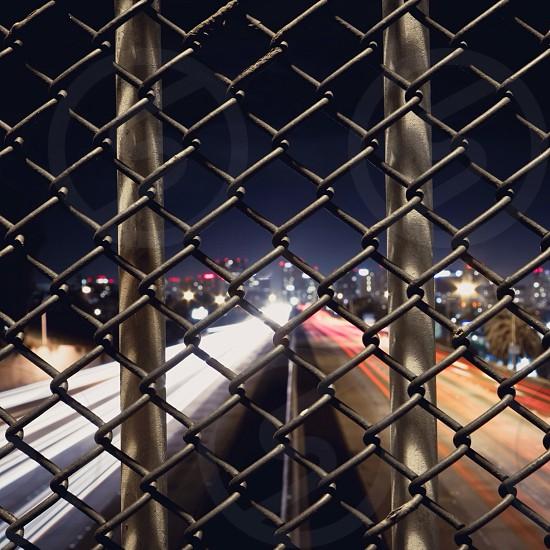 silver diamond fence photo
