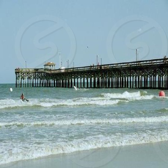 view of the pier photo