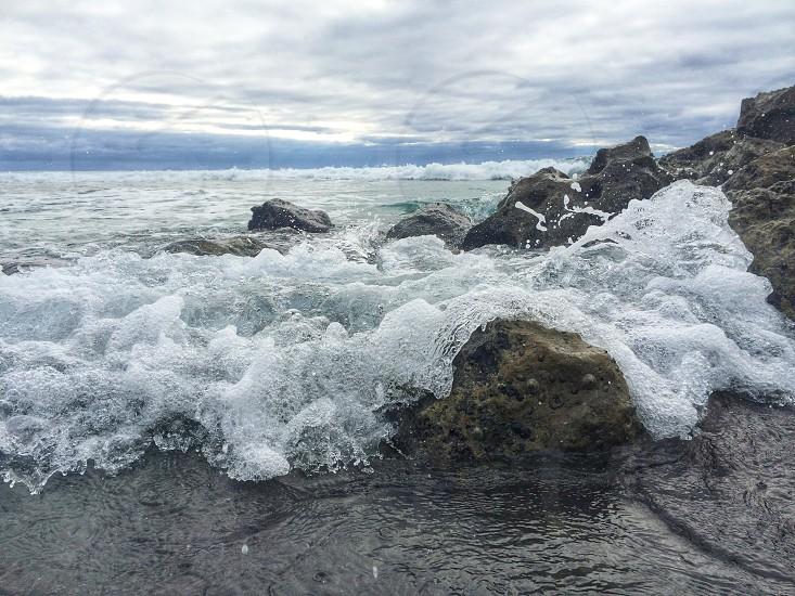 Beach  ocean water photo