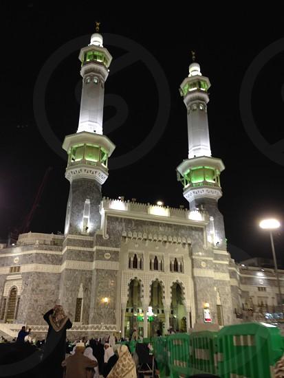 Al-Haram Mosque Makkah Mecca Saudi Arabia KSA Moslem holly mosque  photo