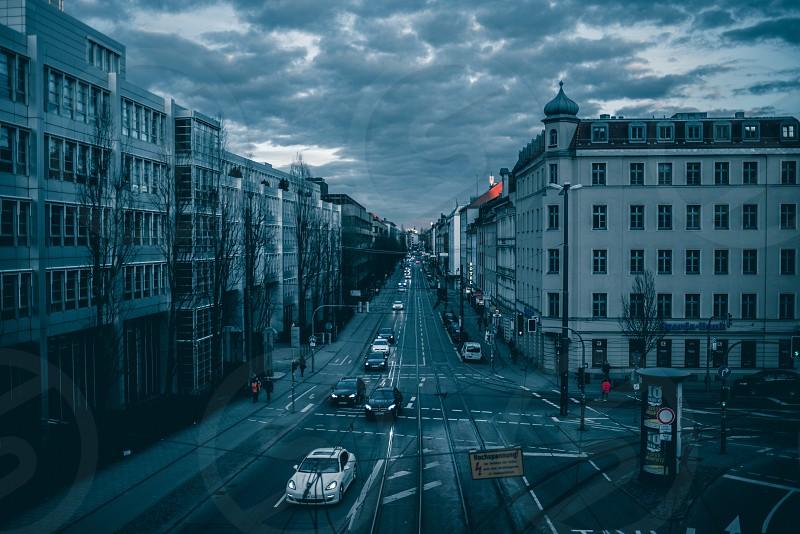 streetcarsskydramaticdramacityscapetownskyline photo