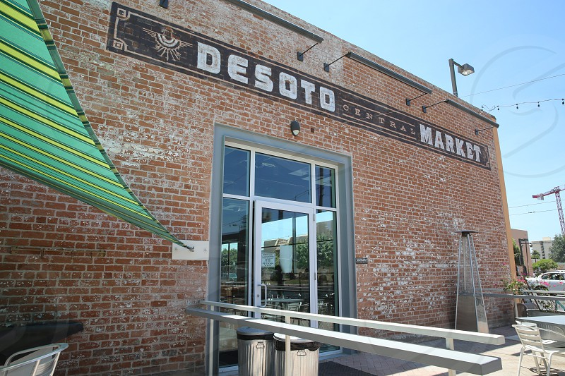 desoto market under clear blue sky photo