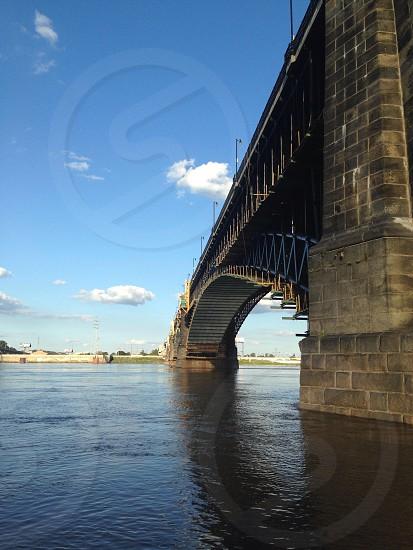 gray and black bridge photo