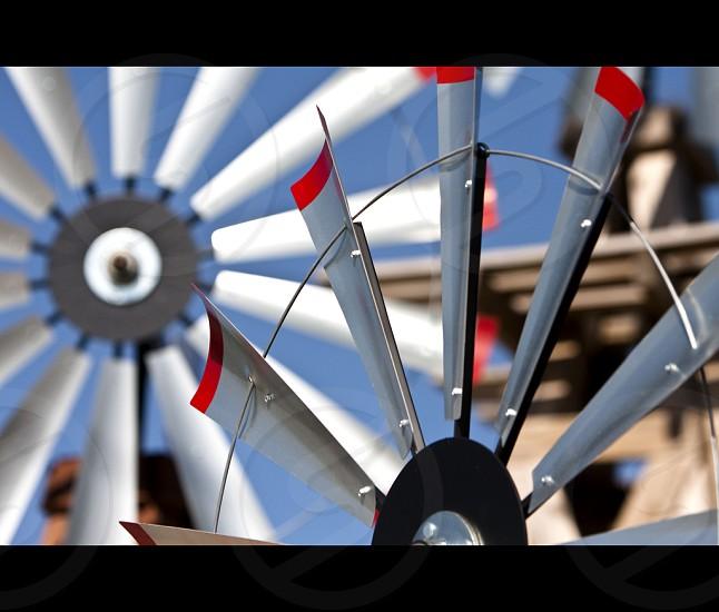 Windmillsgreen wind energy photo