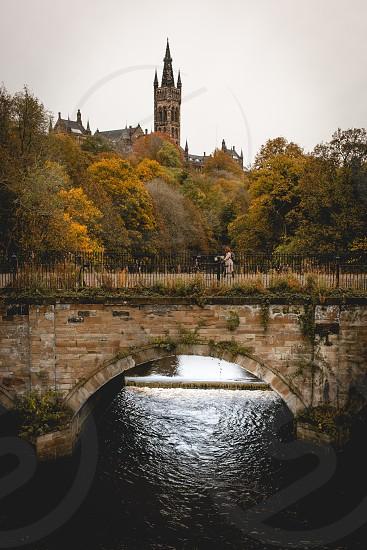 Glasgow in the autumn. photo