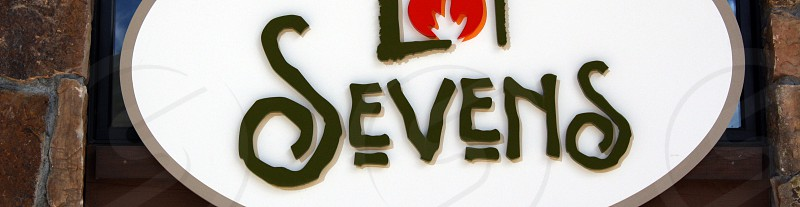 Signage S Lettering Font Type photo
