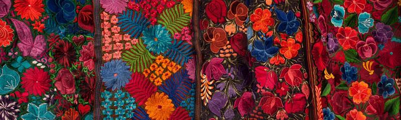 Embroidery by Guatemalan women  photo