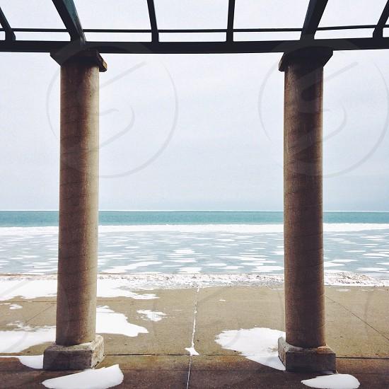 ||Pillars +Lakefront|| photo