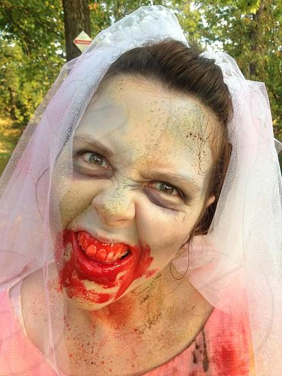 zombie bride! photo