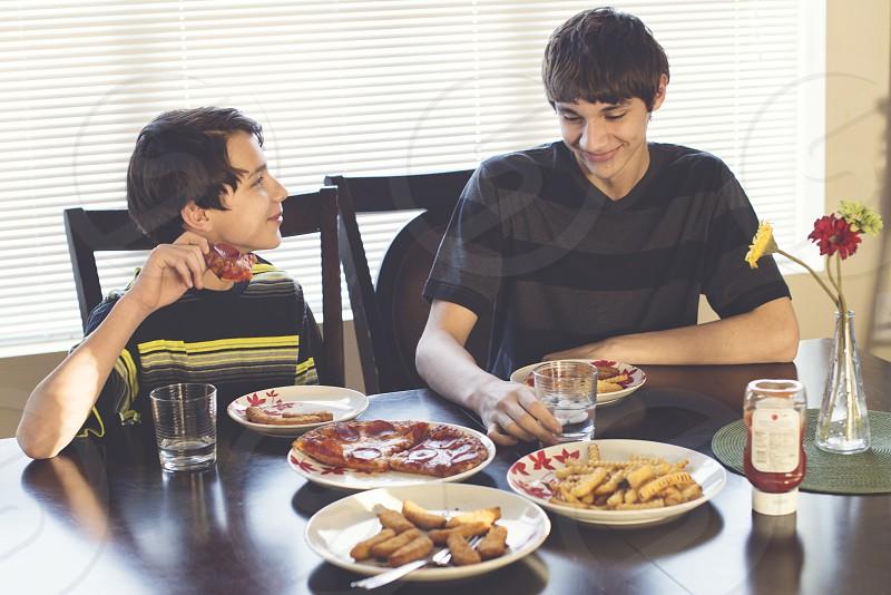 hungry teenagers photo