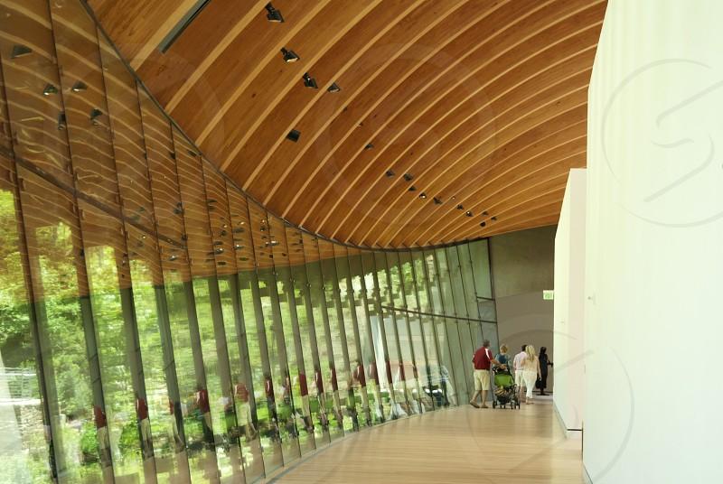 Bentonville AR interior museum hall photo