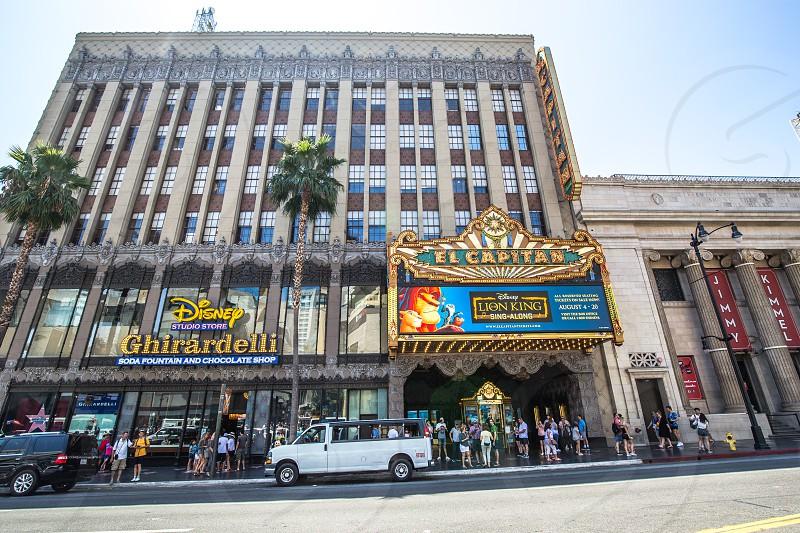 El Capitan Theatre in Hollywood CA photo